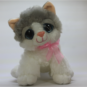 Soft toy - plush cat 30 cm